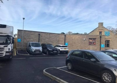 R O'Donnell Plant & Civil Ltd Darley Dales Co-op project 12