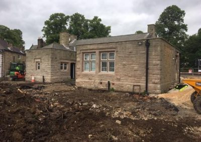 R O'Donnell Plant & Civil Ltd Darley Dales Co-op project 26