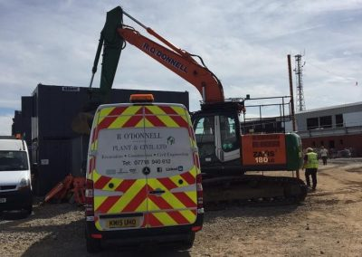 R O'Donnell Plant & Civil Ltd Marden Power Station project 19