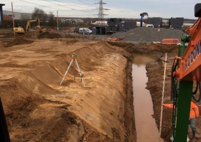 R O'Donnell Plant & Civil Ltd Marden Power Station project 5