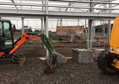 R O'Donnell Plant & Civil Ltd Marden Power Station project 9