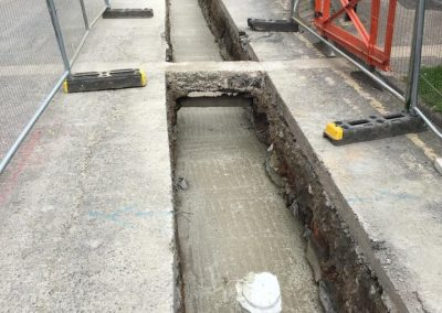 R O'Donnell Plant & Civil Ltd pipex and surface water project in Bradford Leeds 5